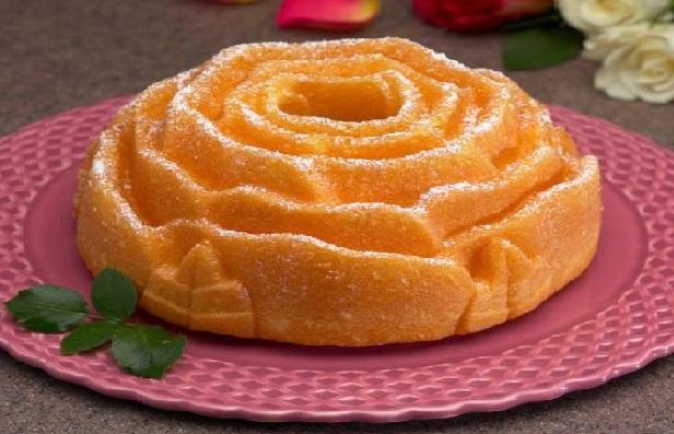 Forma do ciast róża