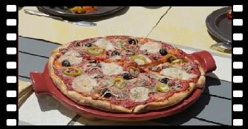 Klatka film Ceramiczny kamień do pieczenia pizzy 2