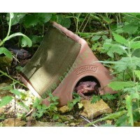 Ceramiczny domek żaby lub ropuchy Frogitat