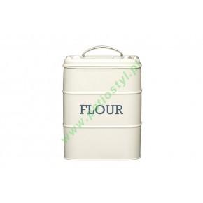 Pojemnik na mąkę - kremowy / Kitchen Craft