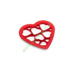 Forma do wykrawania ciastek PUZZLE HEARTS