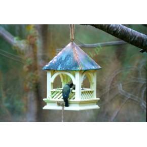 Karmnik dla ptaków Bempton - miedziany dach [BEBT]