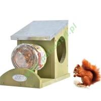 Karmnik dla wiewiórki