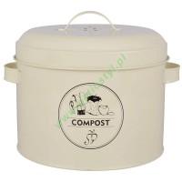 Kompostownik kuchenny z filtrem węglowym