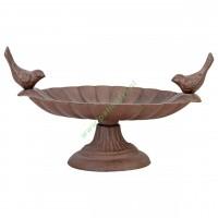 Karmnik/Poidełko dla ptaków żeliwne