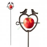 Karmnik dla ptaków żeliwny na owoce