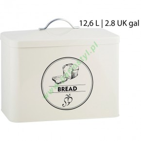 Pojemnik metalowy na chleb, chlebak