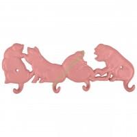 Wieszak żeliwny świnki