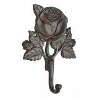 Wieszak żeliwny Róża