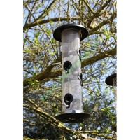 Duży karmnik, podajnik nasion dla ptaków