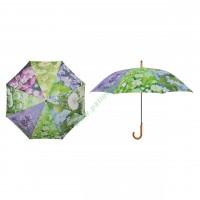Parasol przeciwdeszczowy motyw wiosenne kwiaty