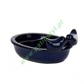 Poidełko i karmnik dla ptaków ceramiczne 2w1