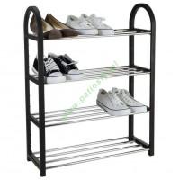 Regał PÓŁKA szafka stojak na buty 4 poziomy piętrowy